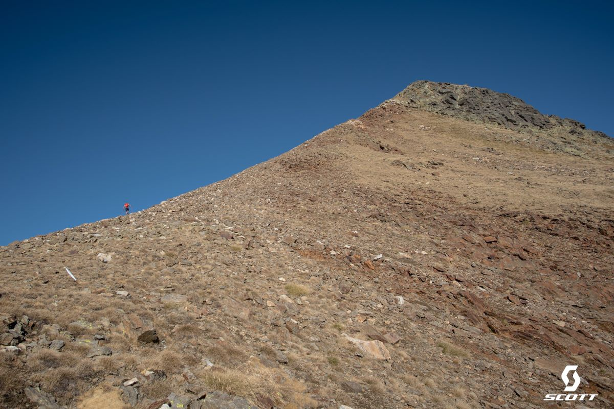 Čtvrtý vrchol - pekelná Fontblanca.