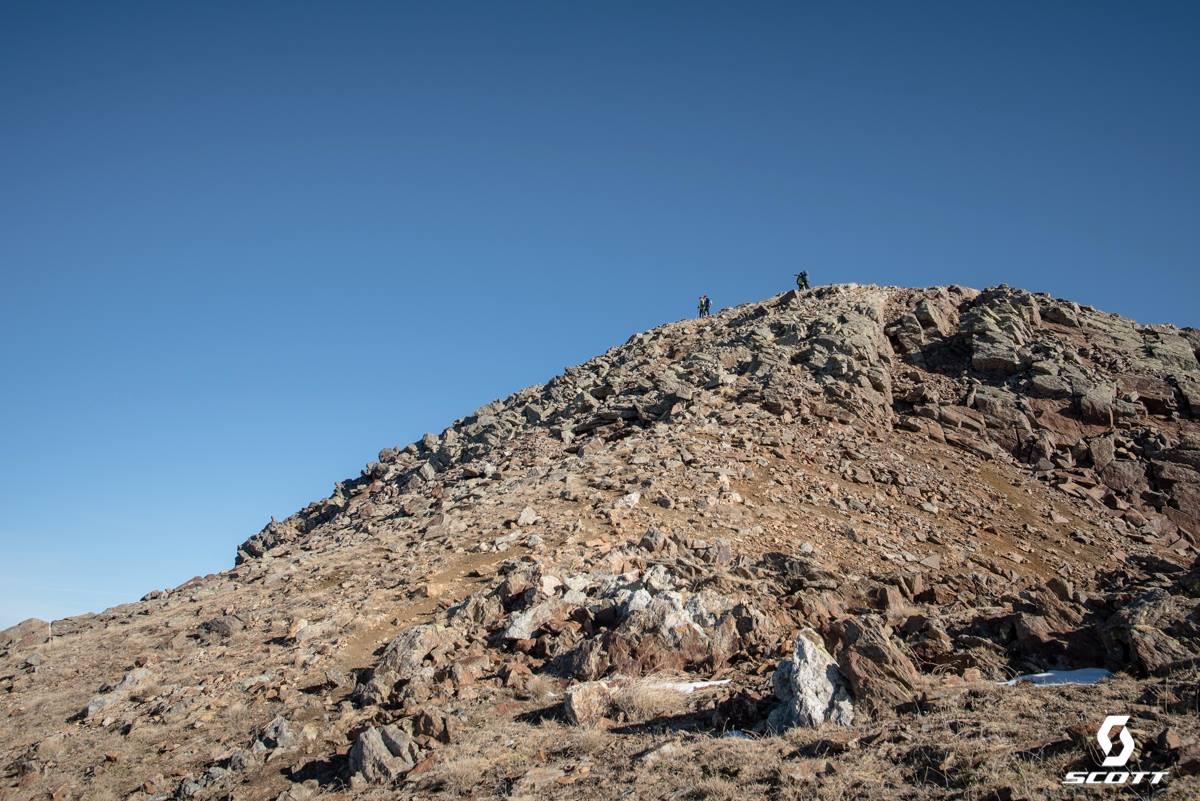 Pic de la Serrera - 3. vrchol.