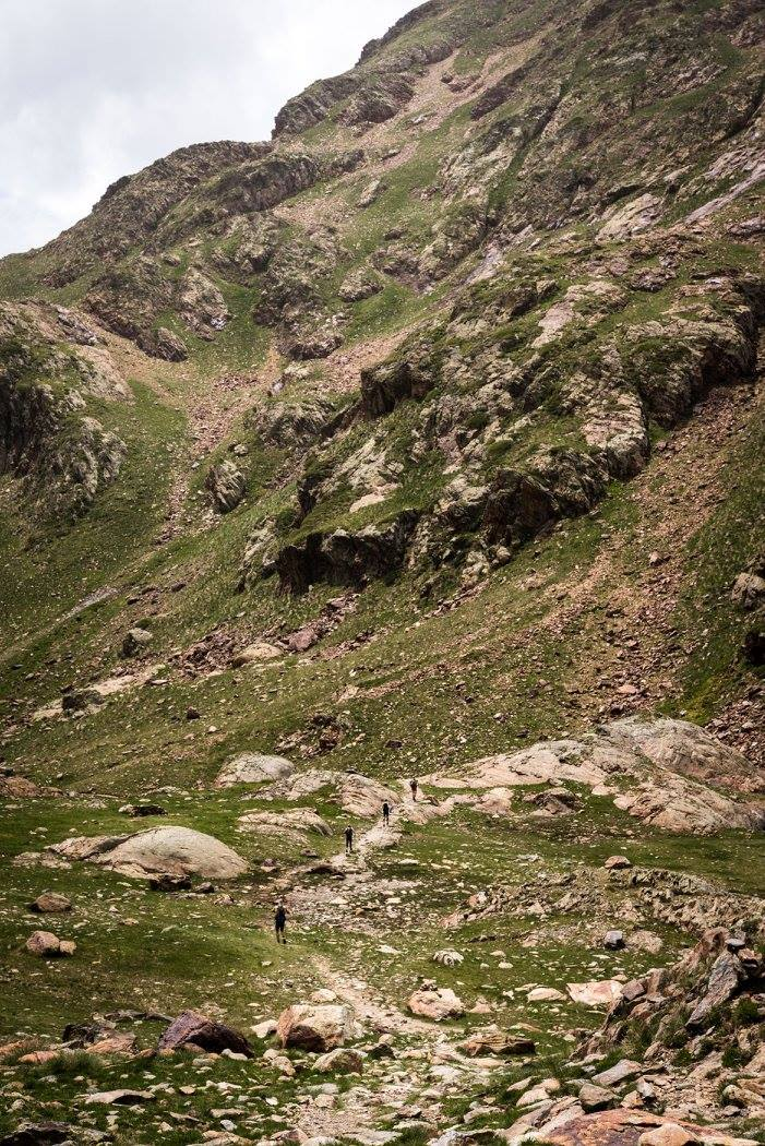 Vysokohorský trek, tam někam nahoru.