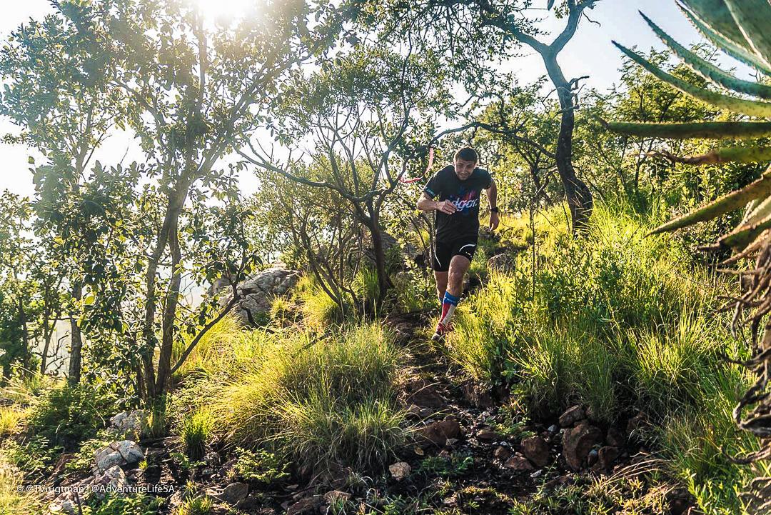 Kratší trail na rozběhání.