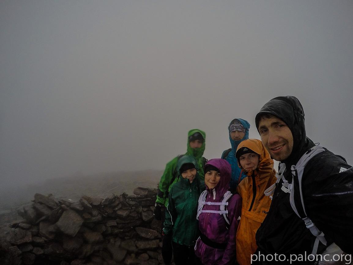Na nejvyšší hoře Irska - jako barevní.