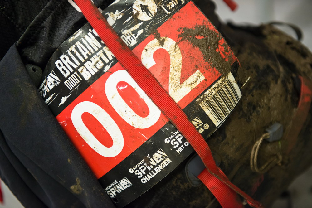 Trochu bahno - do závodu jsem vstupoval jako číslo 2 - za Eoinem.