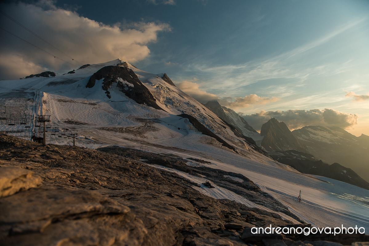 Večer na Panoramique to vypadalo hezčí než ráno