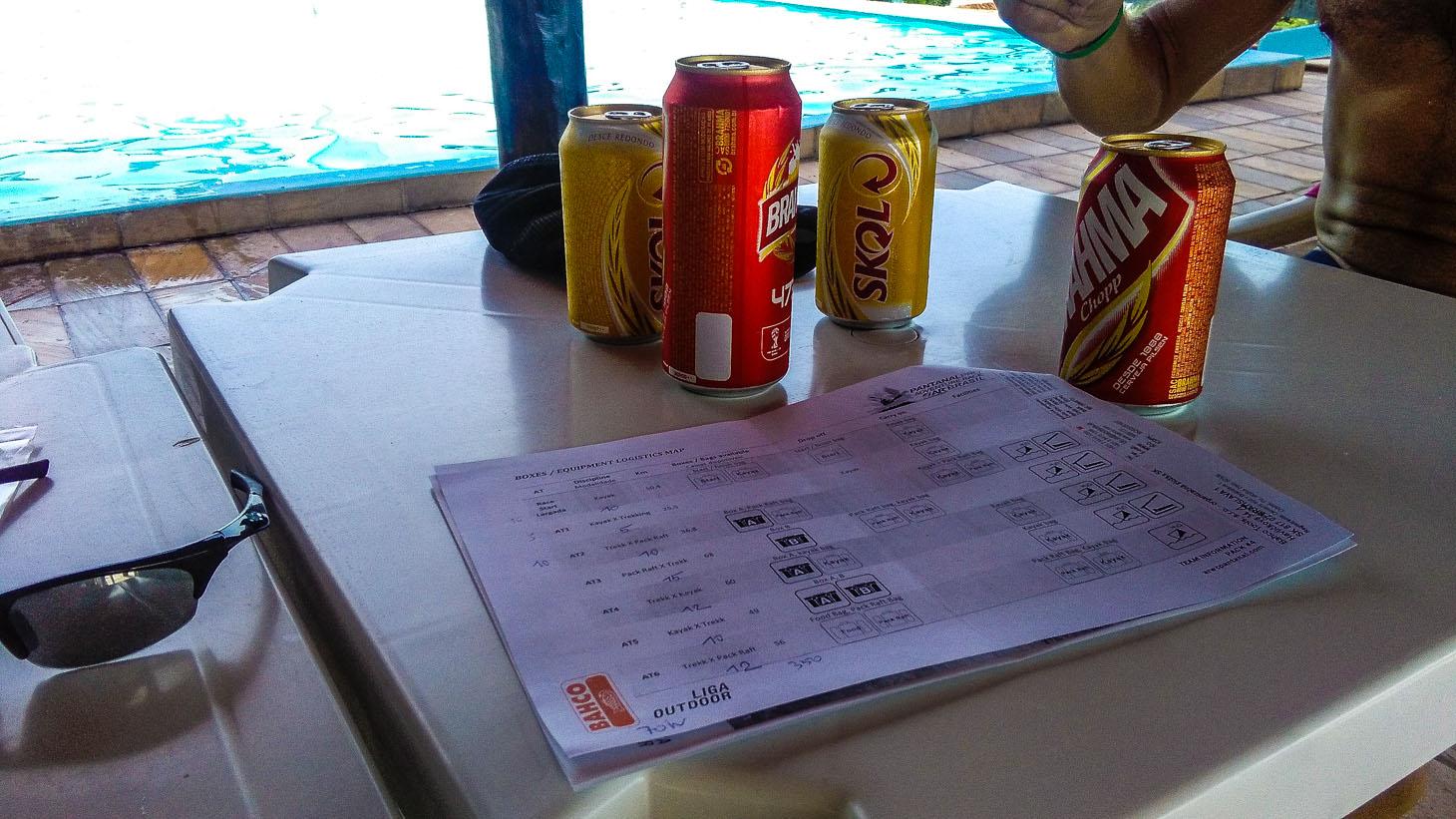 Taktická příprava - časové odhady a pitný režim