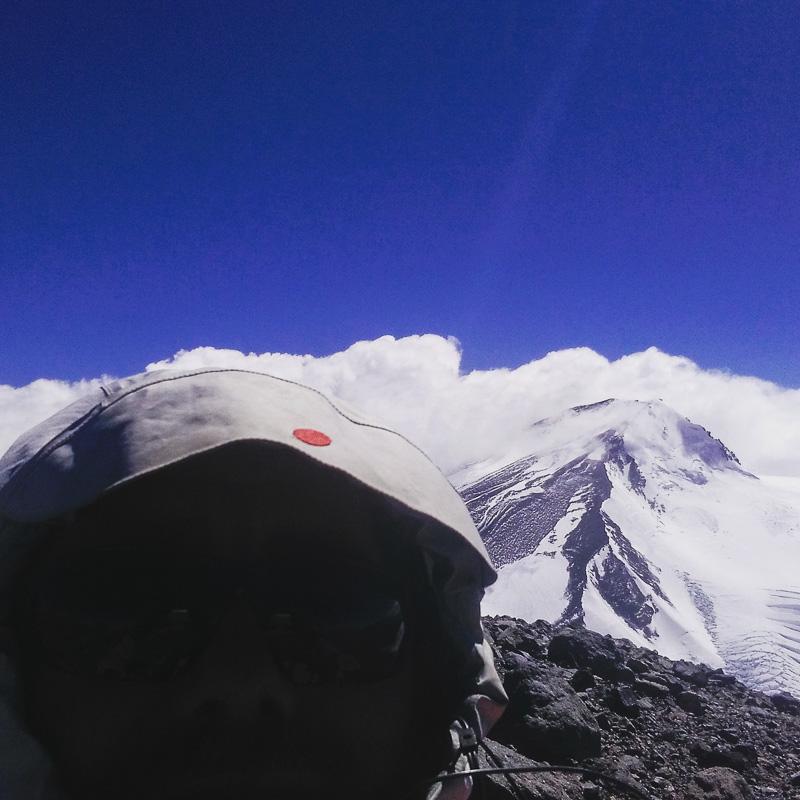 Summit photo - Darth Vader style.